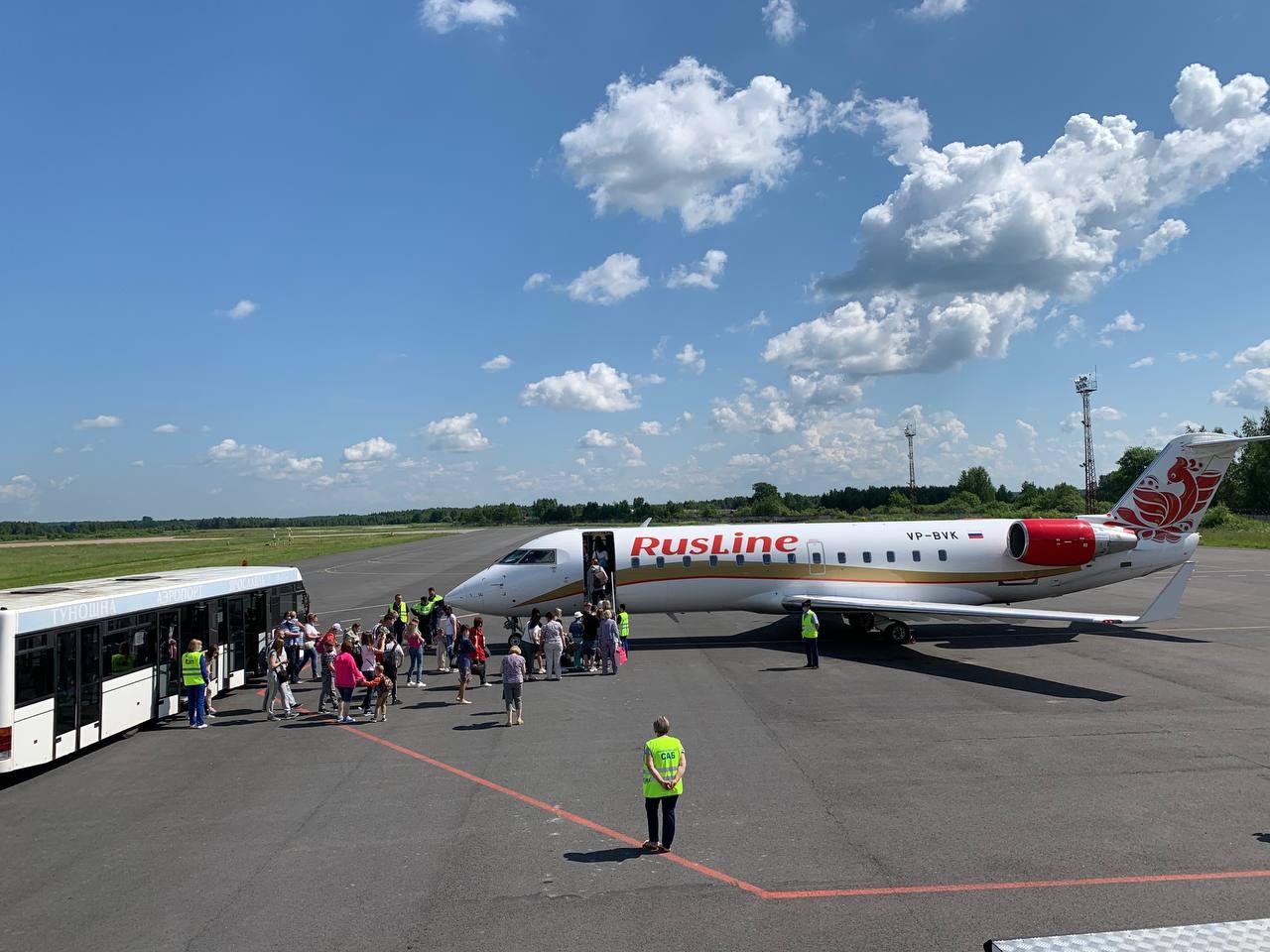 Из ярославского аэропорта улетел первый самолет в Анапу