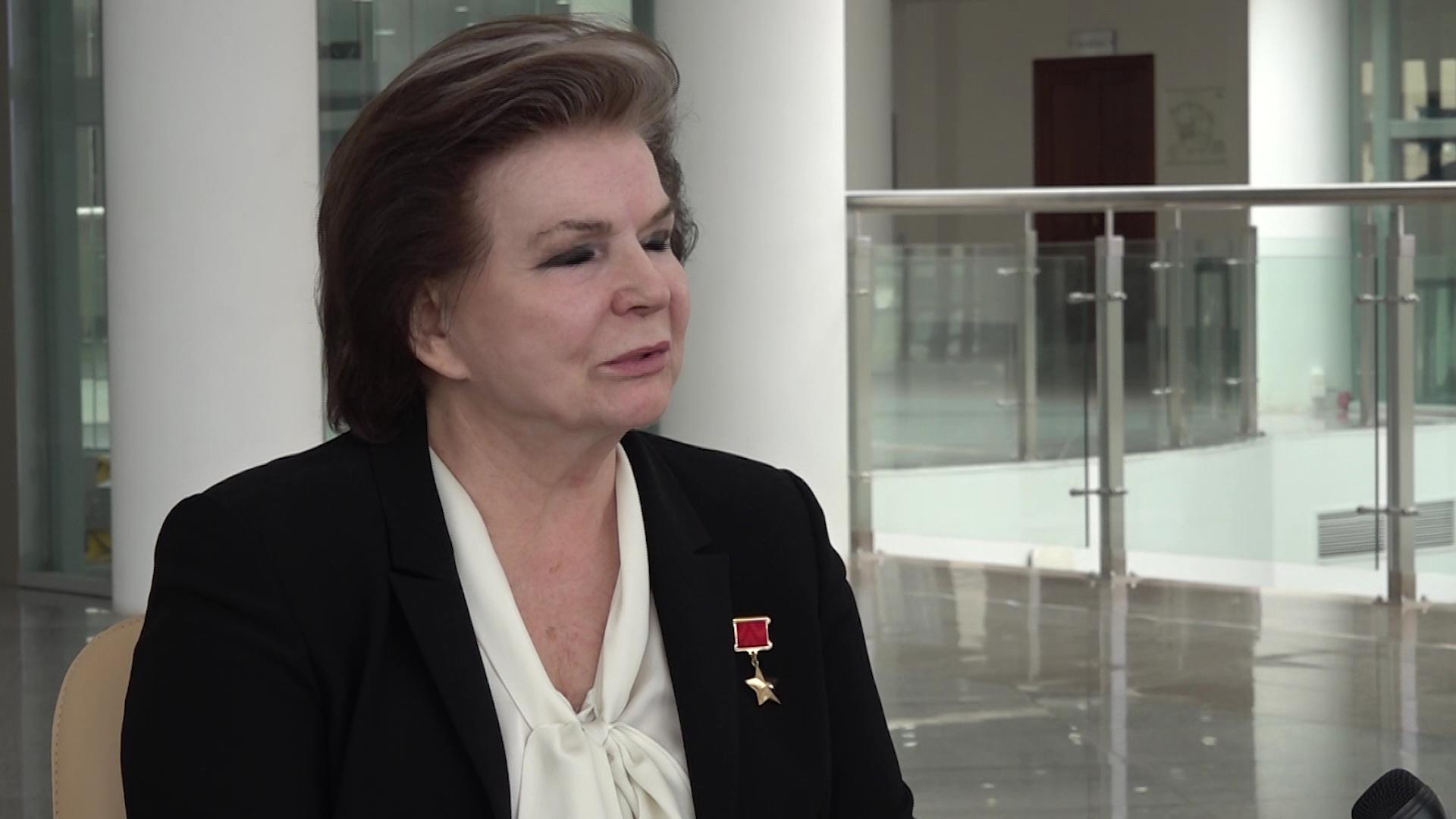 Валентина Терешкова: я буду делать все для родной Ярославии