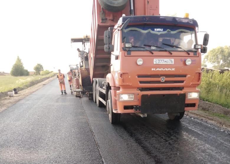 Дорогу Данилов – Пошехонье отремонтируют к концу августа