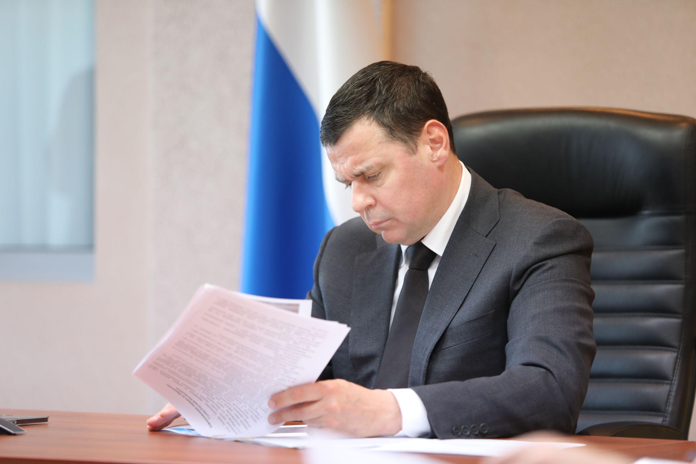 Дмитрий Миронов: 34 километра автодороги Тутаев – Шопша отремонтируем в этом году