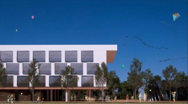 Мэр Ярославля продемонстрировал, как будет выглядеть новая школа на Большой Федоровской