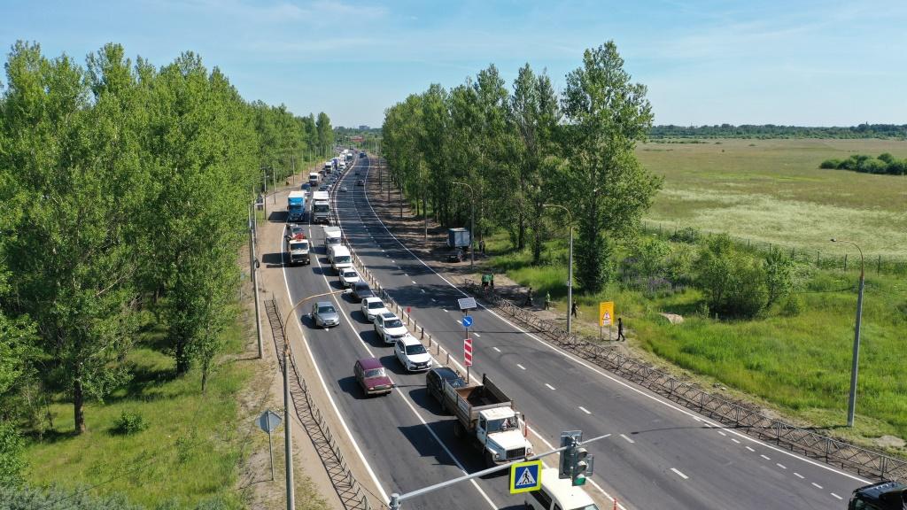 Завершен ремонт Юго-Западной окружной дороги Ярославля