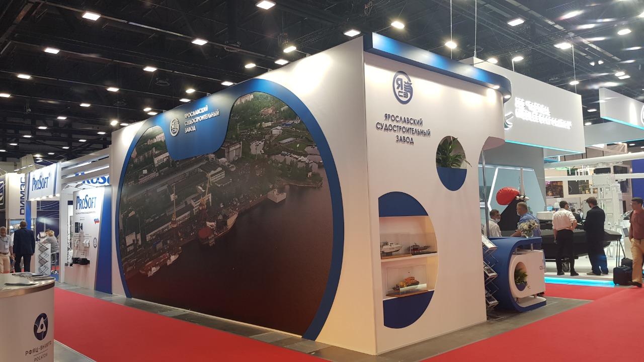 Инновационные морские разработки предприятий региона представлены на международном салоне в Санкт-Петербурге