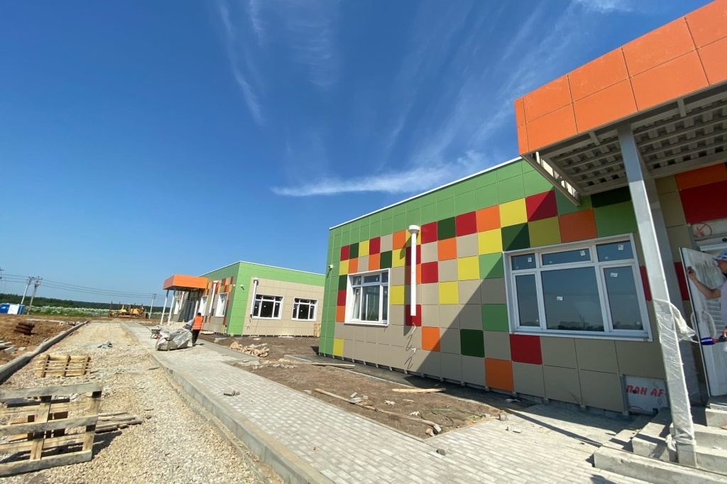 Завершается строительство яслей в Ярославском районе