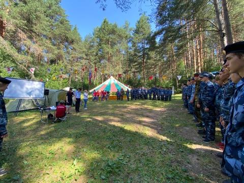 Профильный лагерь «Служить Отечеству – честь имею!» собрал более 120 школьников
