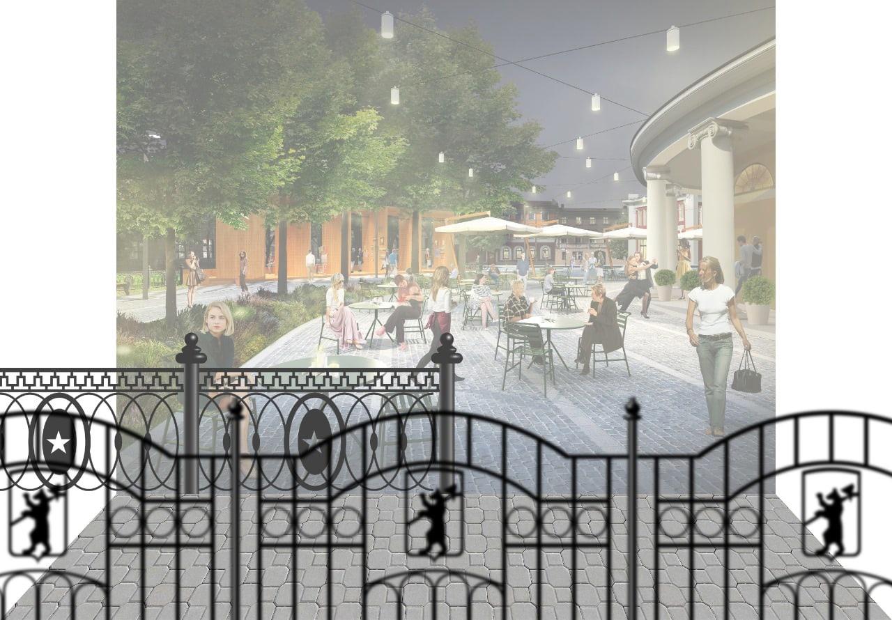 Жителям Ярославля предлагают решить, каким будет ограждение у Ротонды в центре города
