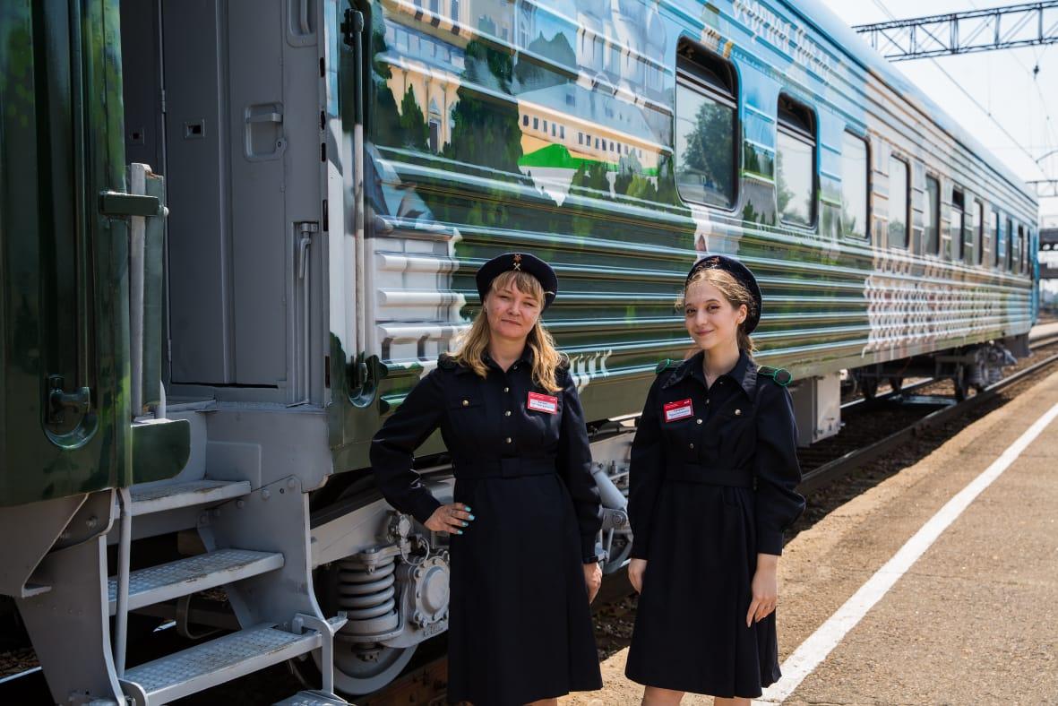 В Ярославле прошла презентация туристического ретропоезда «Золотое кольцо России»