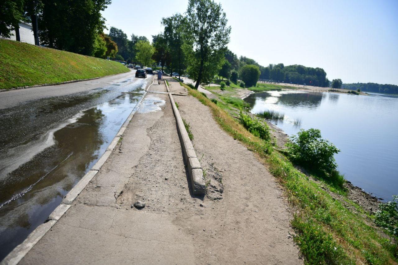 Которосльную набережную в Ярославле отремонтируют до 15 июля