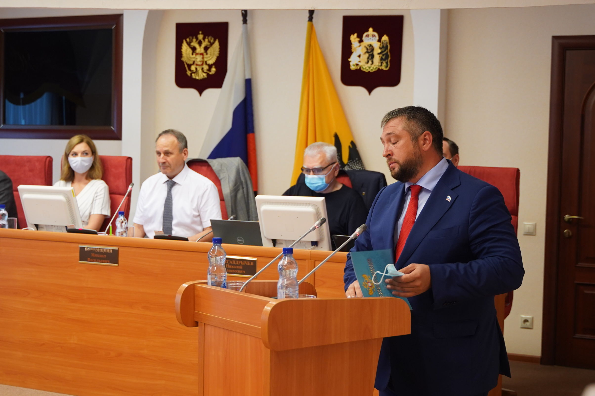 Михаила Крупина утвердили в должности уполномоченного по правам ребенка в Ярославской области