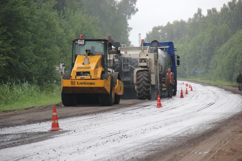22,5 километра дороги от Углича до Пошехонья отремонтируют в этом году