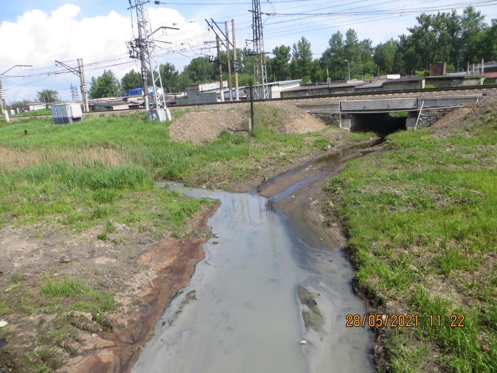 Полиция выяснит, кто загрязняет канализационными стоками Пятовский ручей