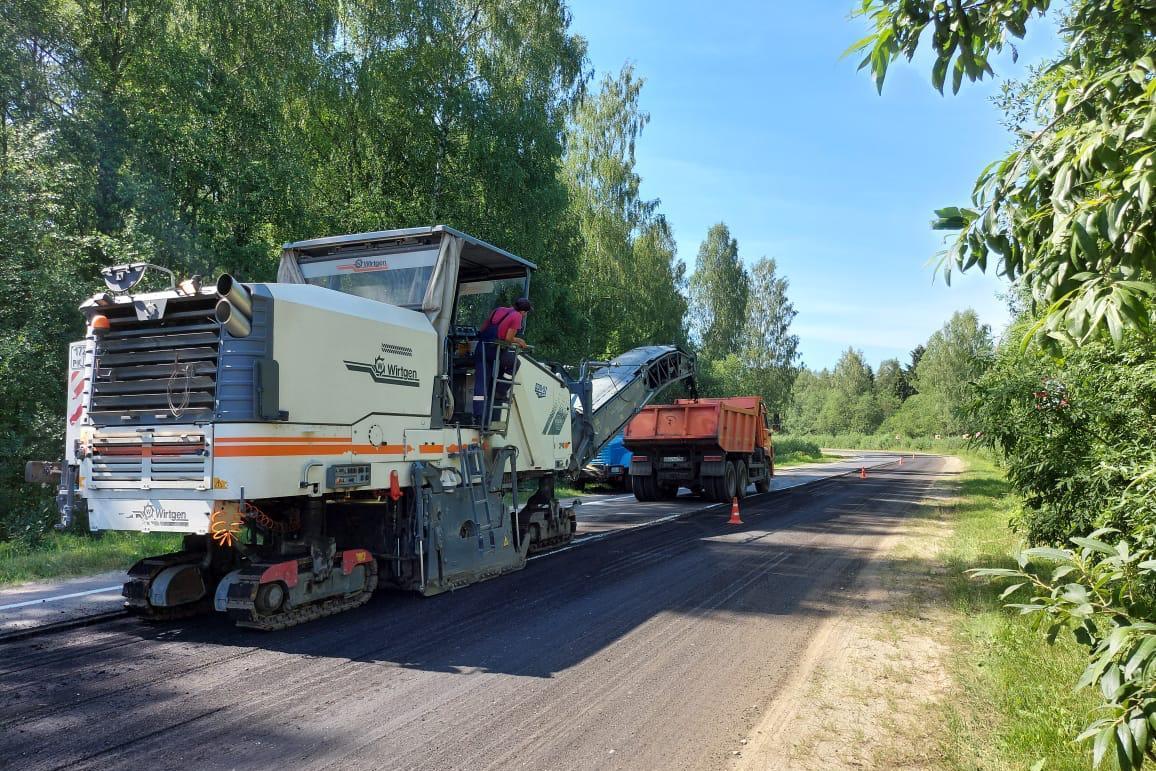 22,5 км трассы Сергиев Посад – Калязин – Рыбинск – Череповец отремонтируют в этом году