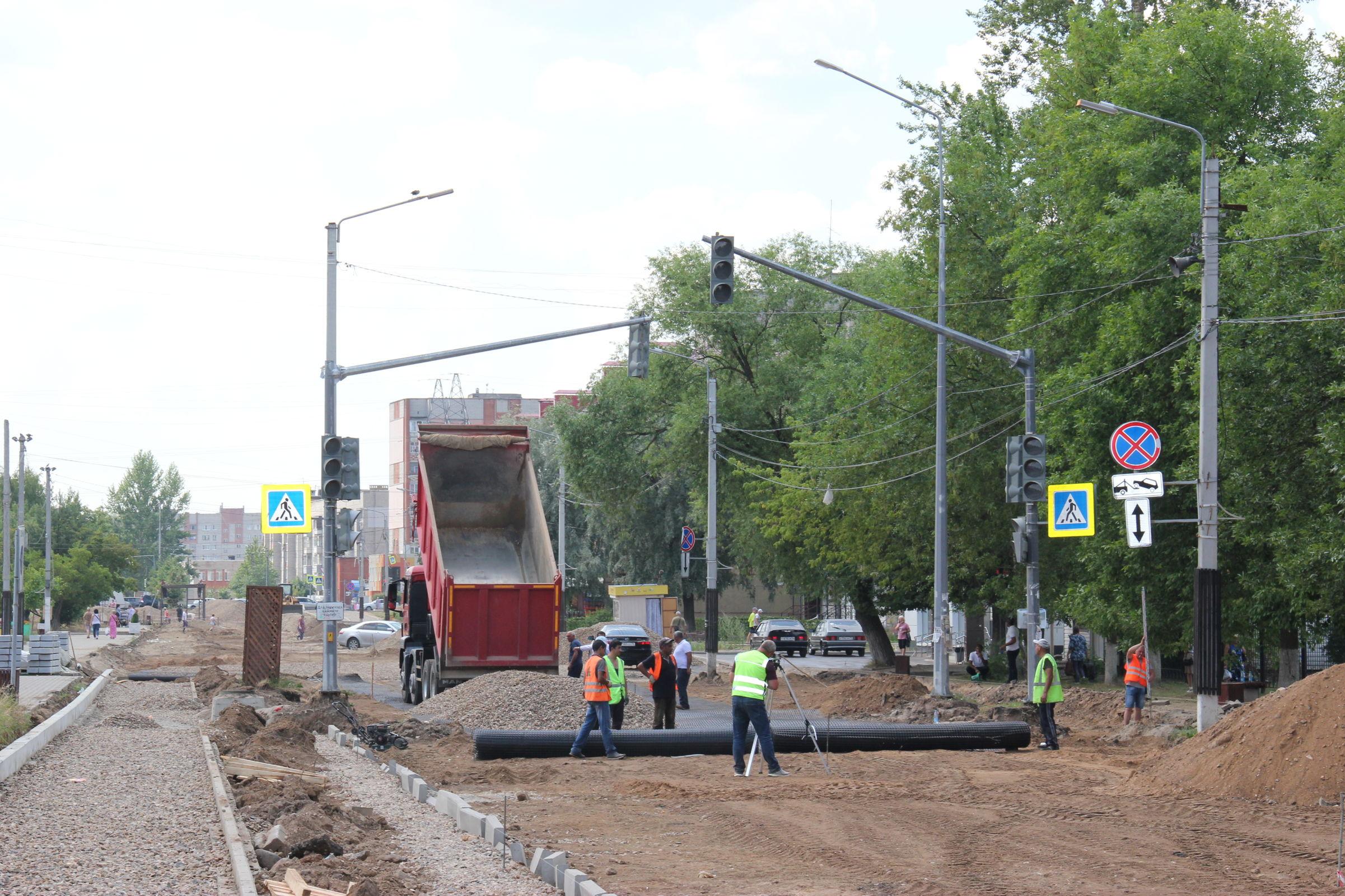 Капремонт улицы Моторостроителей в Тутаеве ведется в рамках нацпроекта «Безопасные качественные дороги»