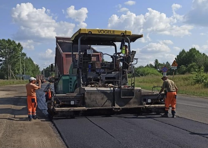 На трассе Ярославль – Рыбинск идет комплексный ремонт дороги