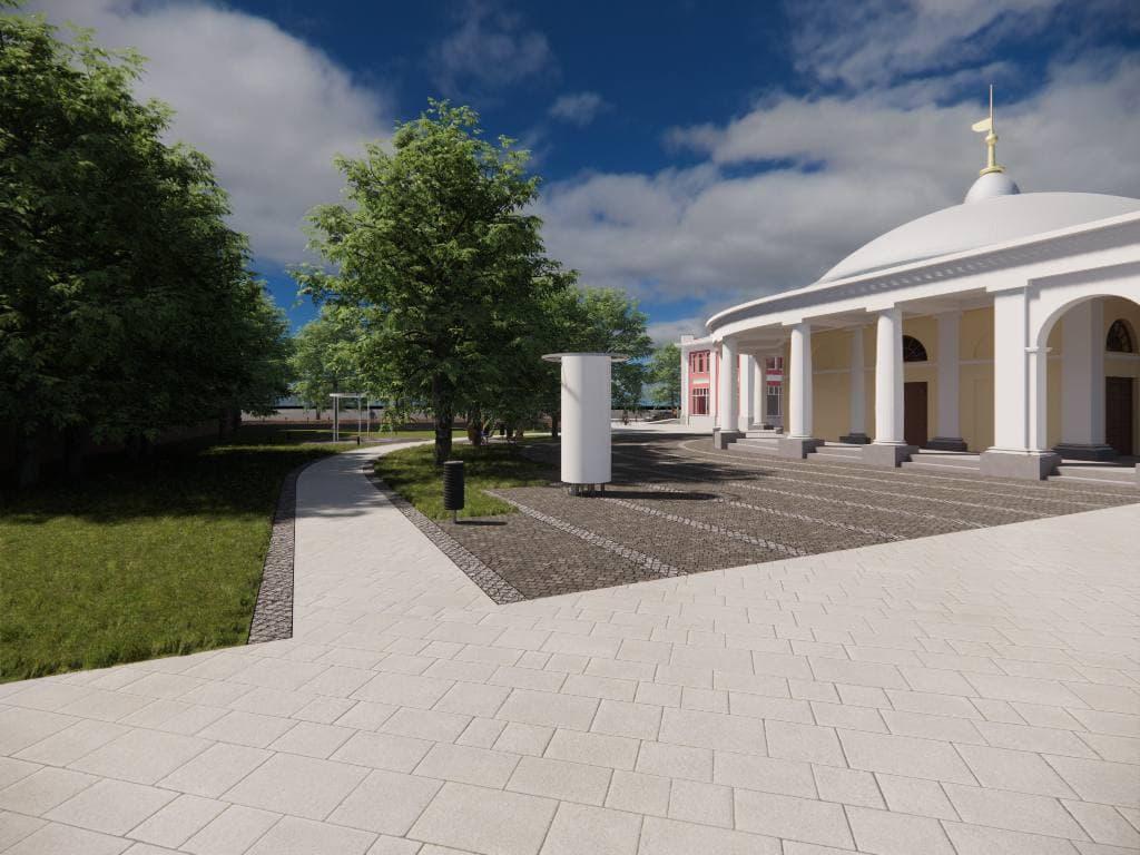 В Ярославле благоустроят сквер в центре города: смотрите проект