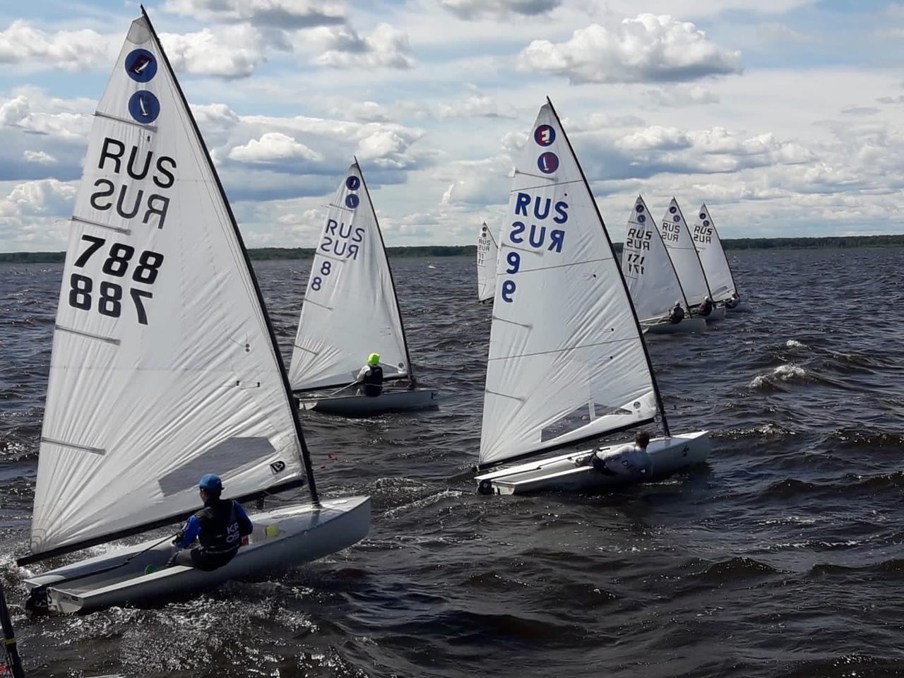 Рыбинские яхтсмены завоевали 6 медалей на соревнованиях по парусному спорту