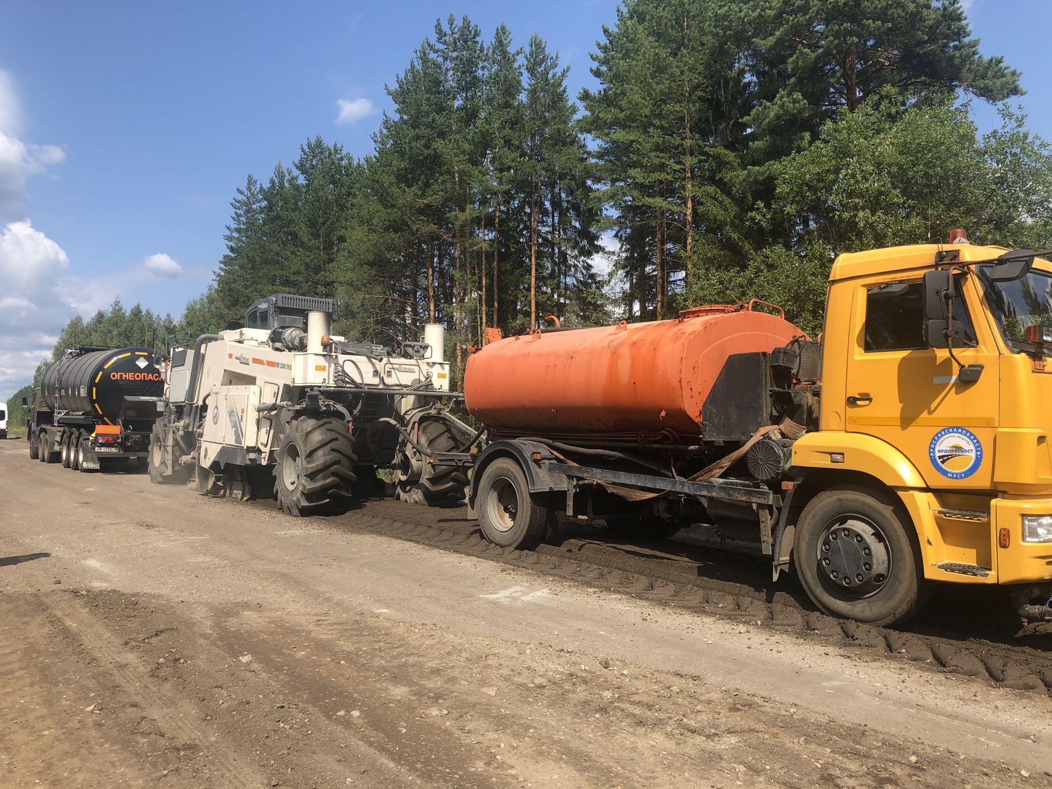 Комиссия проверила качество ремонта дороги Данилов – Пошехонье