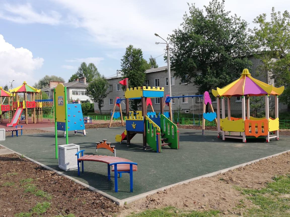 Парк в поселке Пречистое благоустроили в рамках национального проекта