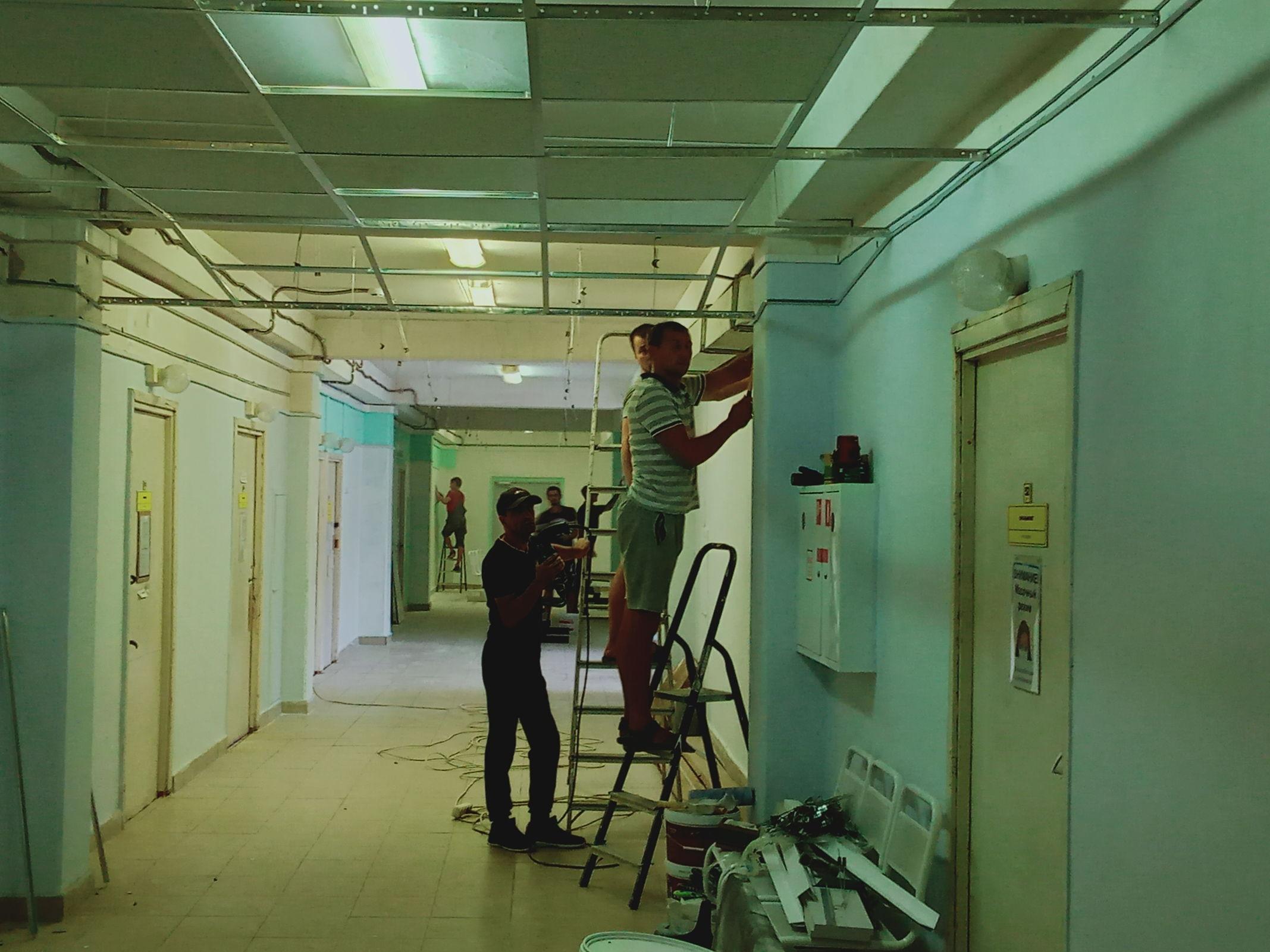 Поликлиники больницы №3 Ярославля преображаются в рамках программы модернизации первичного звена