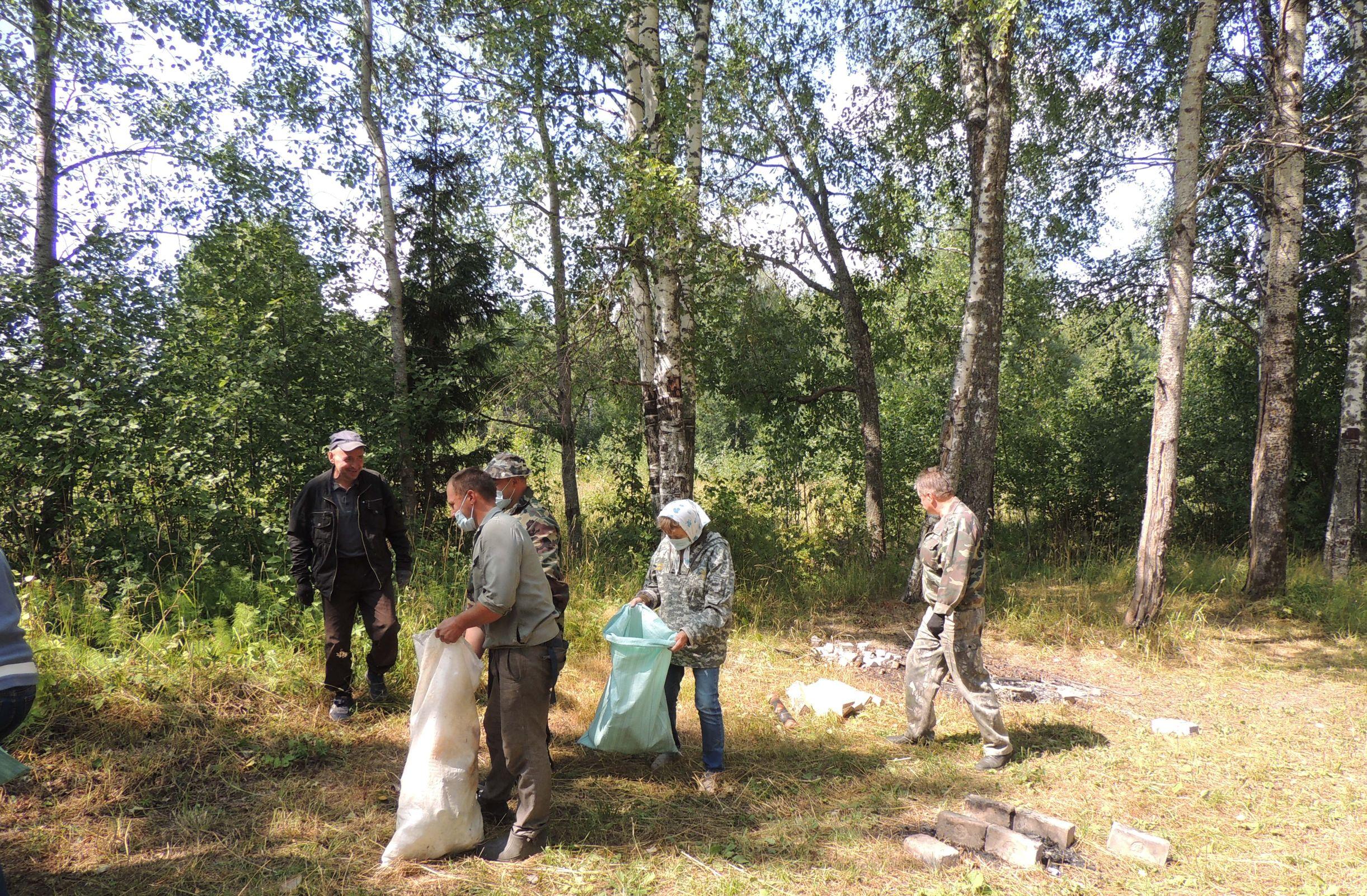 В Ярославской области продолжается природоохранная акция «Очистим лес от мусора»