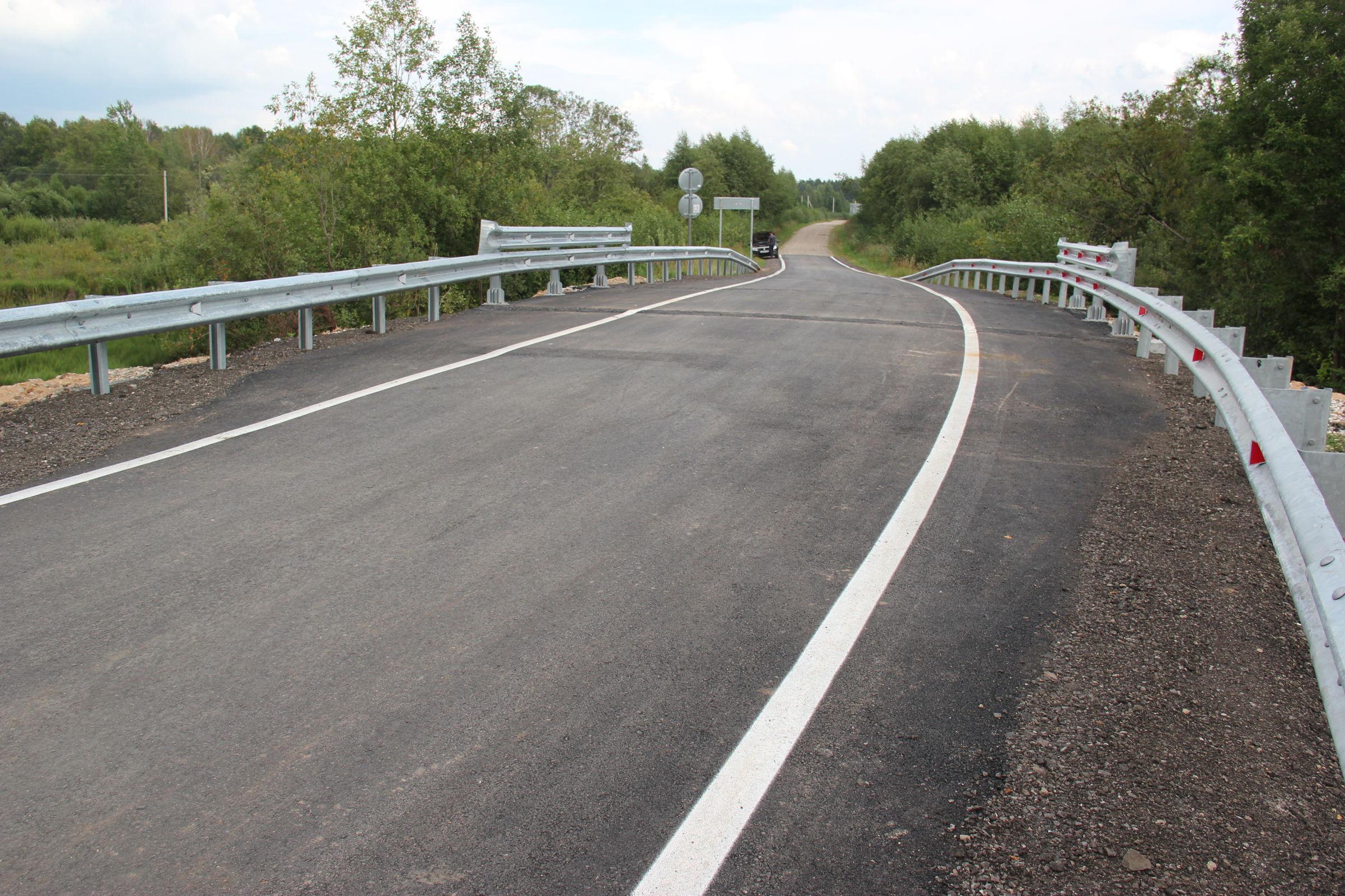 Пять мостов отремонтировали в Ярославской области в рамках нацпроекта в этом году