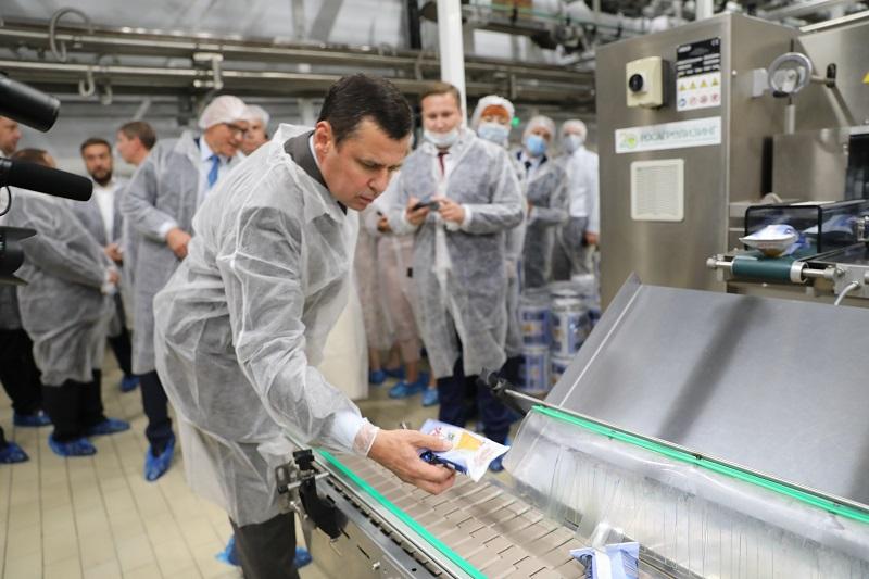 В Тутаеве открыли одно из крупнейших в России предприятий по производству мороженого