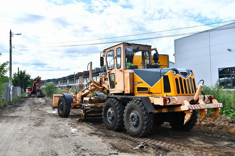 В Ярославле приступили к ремонту улицы в Тверицах