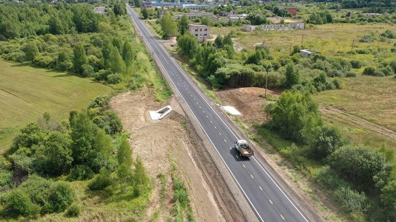 Завершен первый этап ремонта дороги Новый Некоуз – Родионово – поселок Октябрь