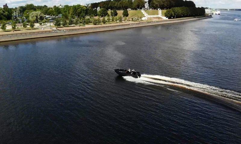 Дмитрий Миронов: в Ярославле на воду спустили уникальные моторные катера