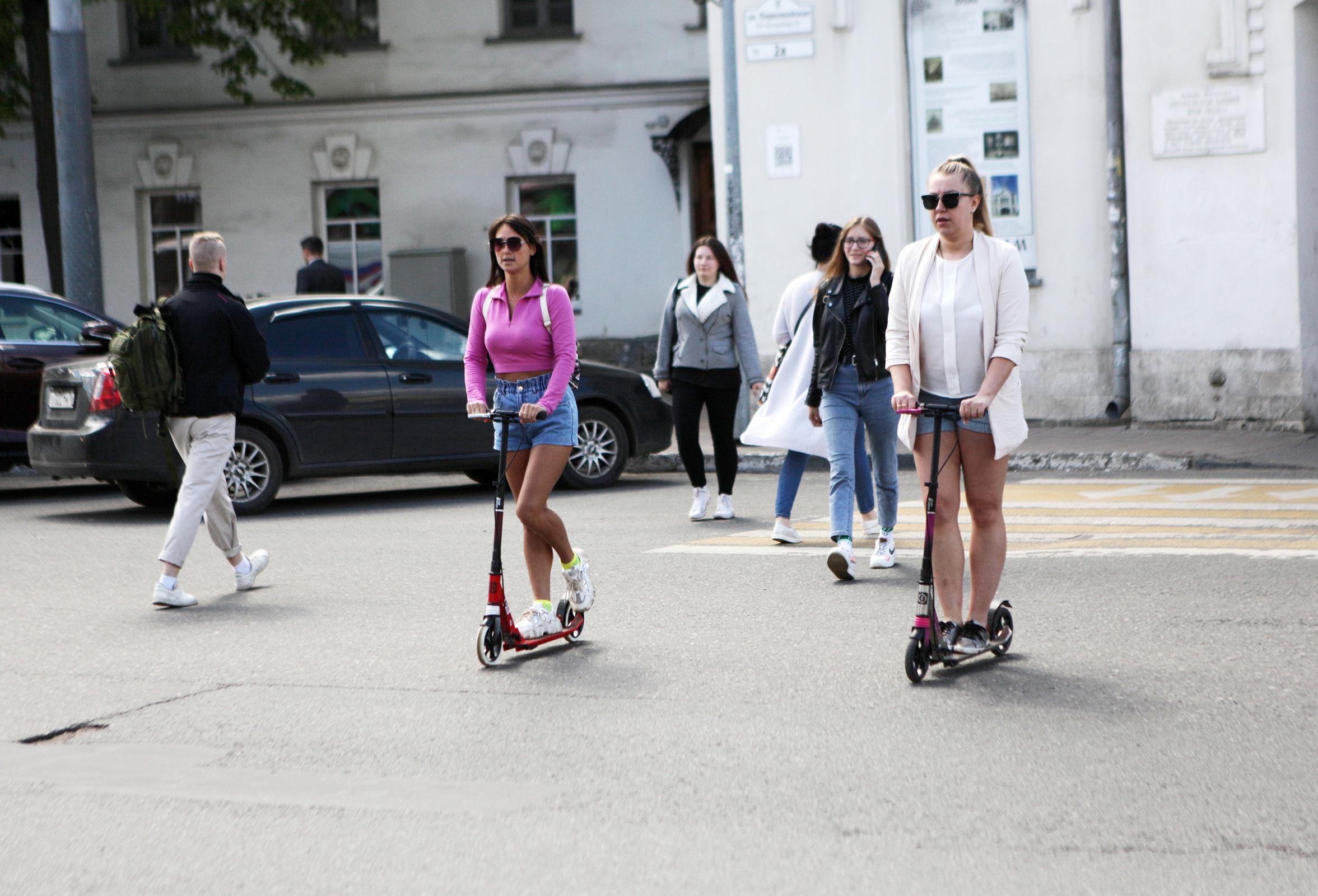Альтернатива общественному транспорту: с чем придется столкнуться ярославцам, решившим перейти на самокаты