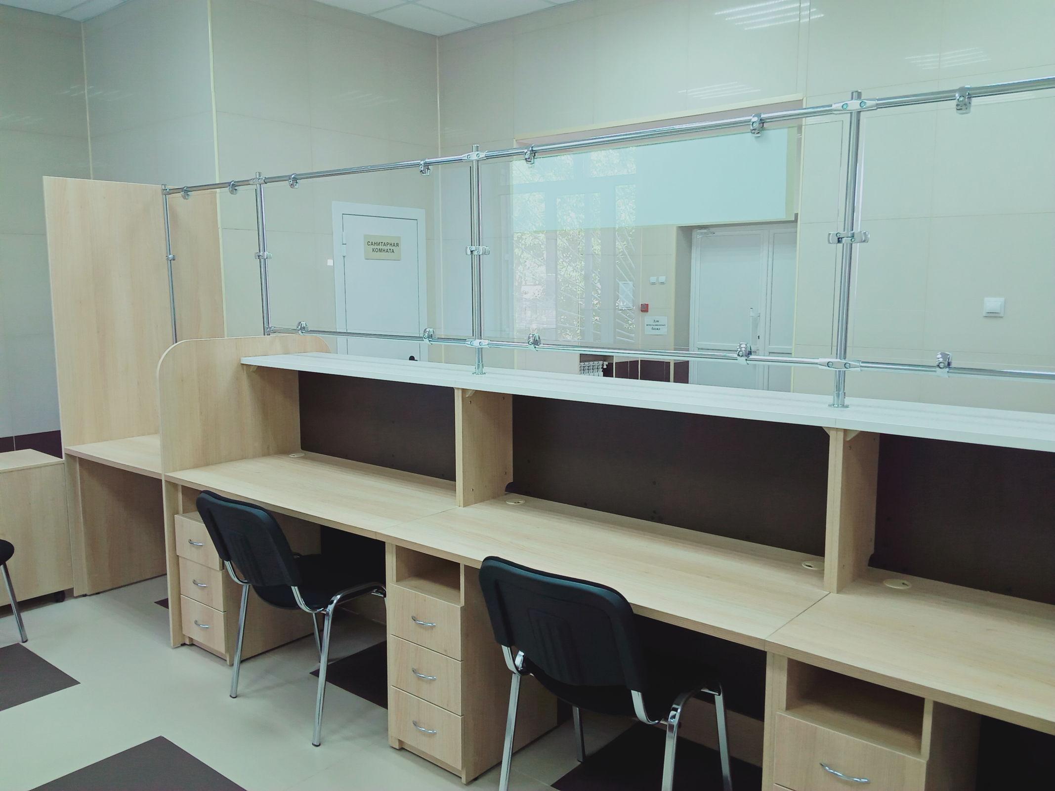 Новая зона регистратуры открывается в поликлинике больницы №9 в Ярославле