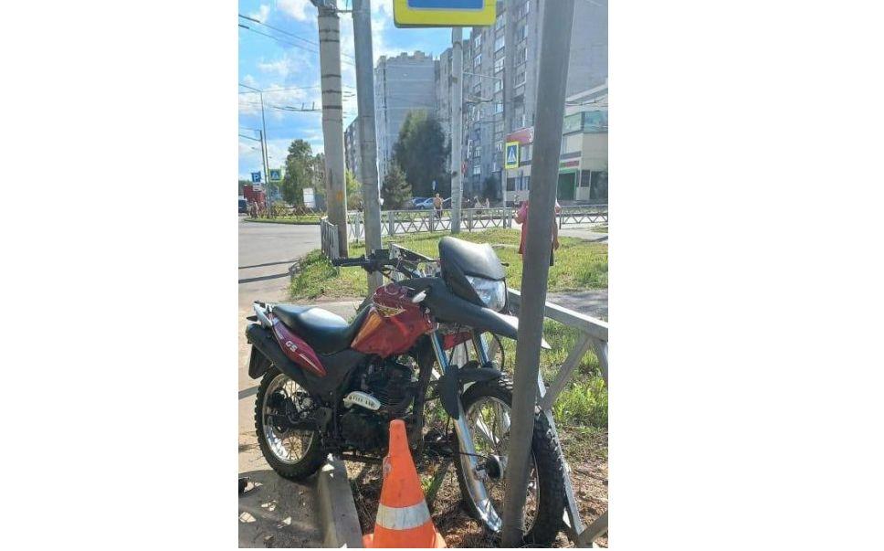 В Рыбинске погиб мотоциклист, врезавшись в дорожный знак
