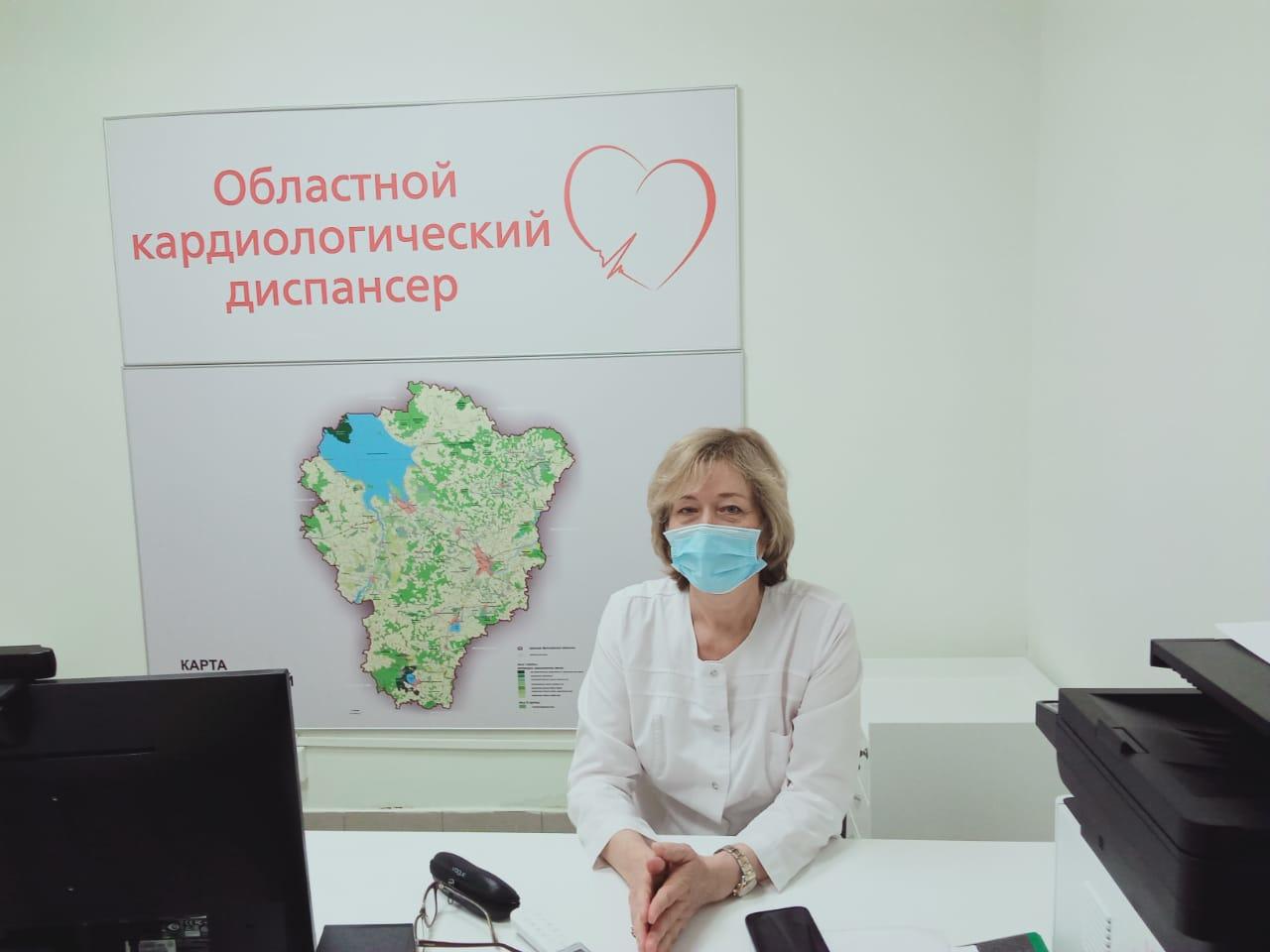 Главный терапевт Ярославской области рассказала о влиянии коронавируса на сердце