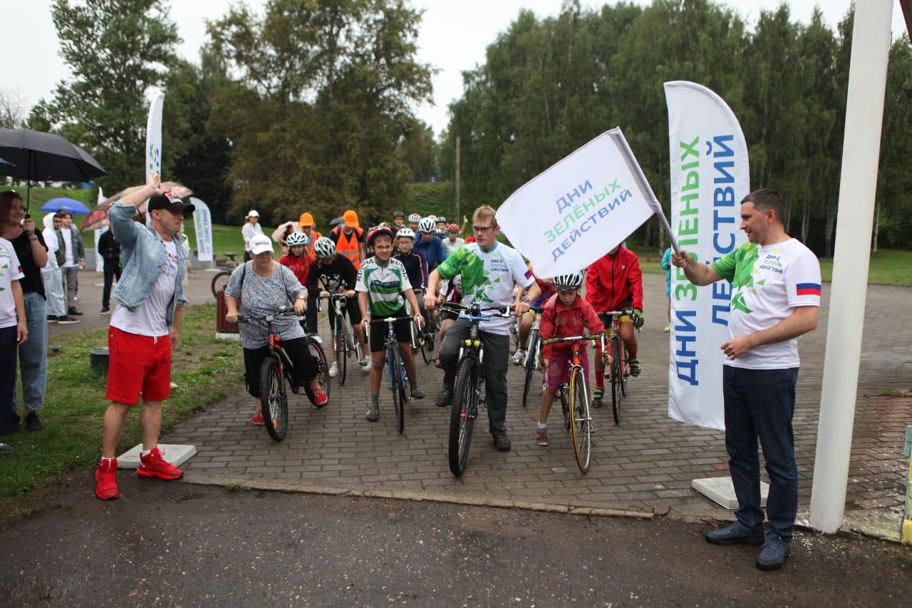 Ярославцы приняли активное участие во всероссийском экомарафоне «Дни зеленых действий»
