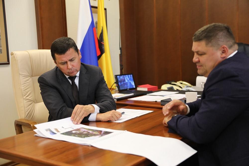 Более 2,4 миллиарда рублей могут направить на благоустройство исторического центра Ярославля