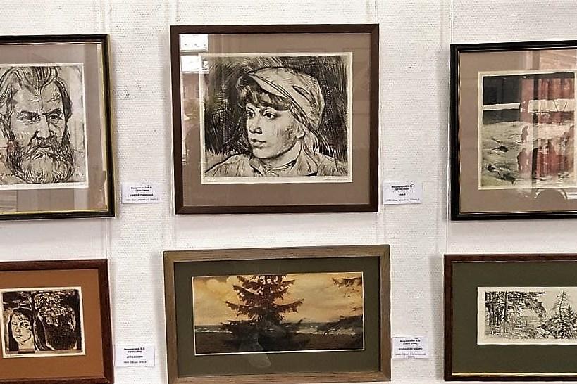 Выставка произведений в технике офорт открылась в Ярославле