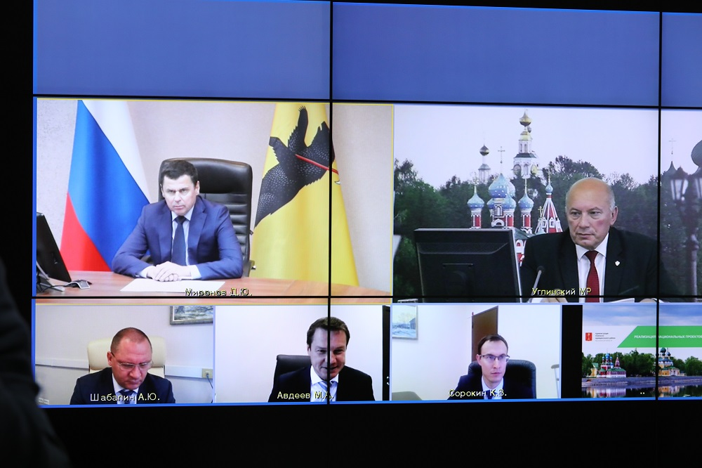 Дмитрий Миронов обсудил с Анатолием Курициным вопросы развития Угличского района