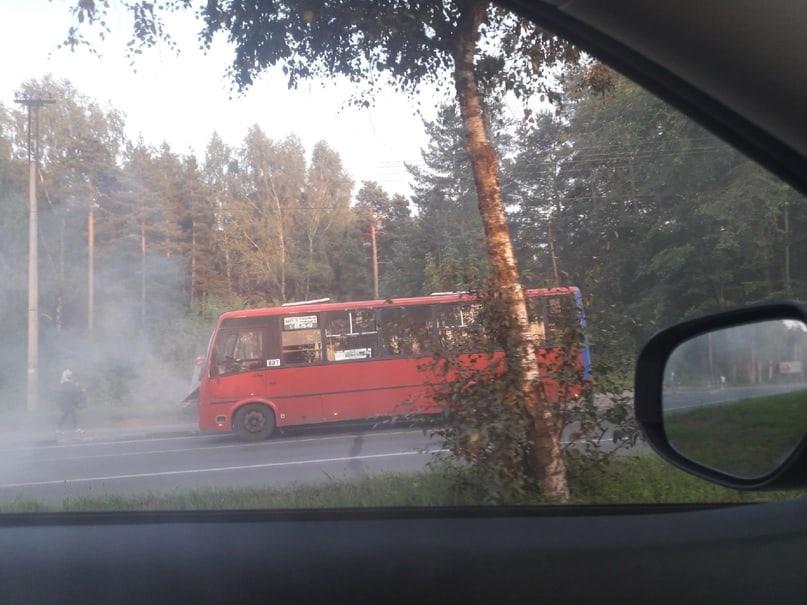 В Ярославле власти отреагировали на сообщение о задымившемся на проспекте Авиаторов автобусе