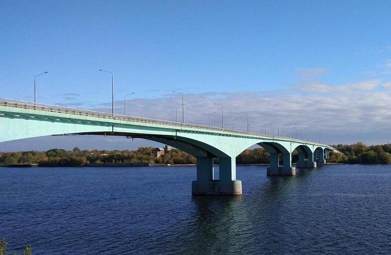 Октябрьский мост в Ярославле будут ремонтировать по ночам
