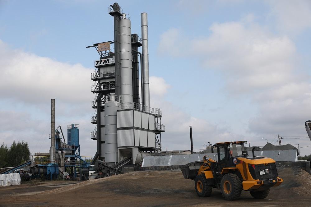 Дмитрий Миронов: в этом году в Ярославской области начали работать три новых асфальтобетонных завода