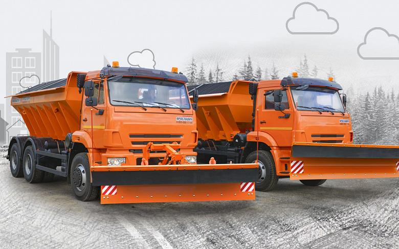 В августе на улицы Ярославля выйдет снегоуборочная техника