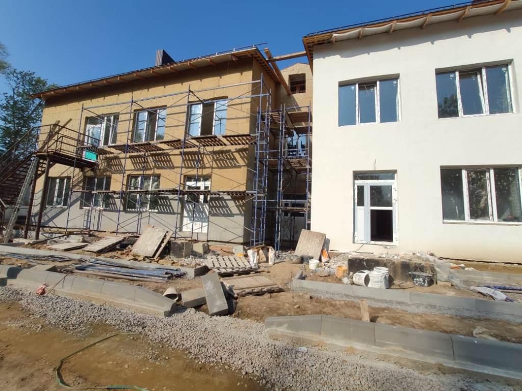 Началась поставка оборудования в строящийся детский сад в Рыбинске