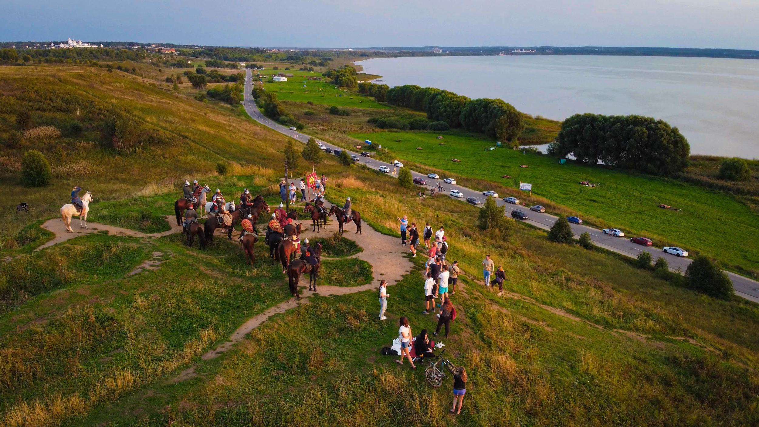 В Ярославской области состоится историческая реконструкция конного похода Александра Невского «Александрова дорога»