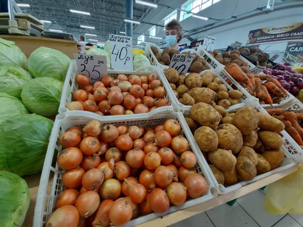 Цены на картофель, капусту, огурцы в Ярославской области ниже, чем в среднем по России