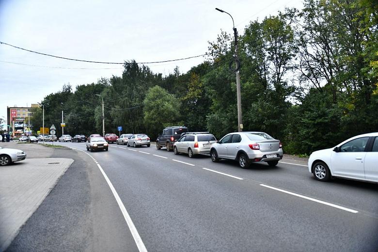 В Ярославле завершился ремонт Тормозного шоссе