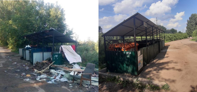 В Ярославской области с начала года выявили и пресекли 85 нарушений по содержанию контейнерных площадок