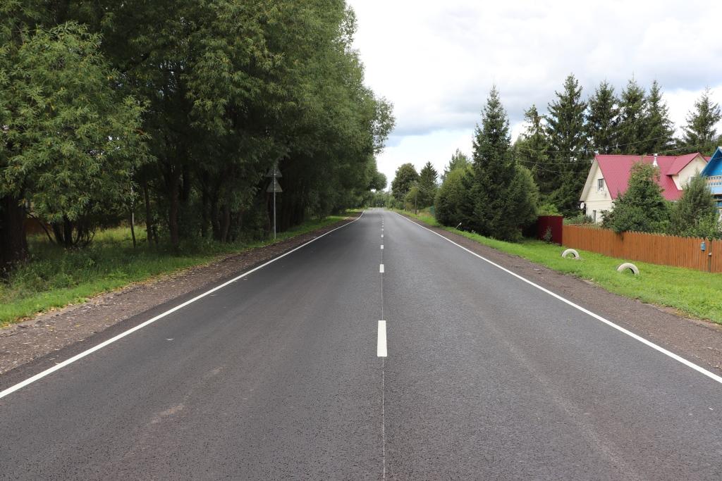 В Ярославской области отремонтировали дорогу Владимир – Переславль-Залесский