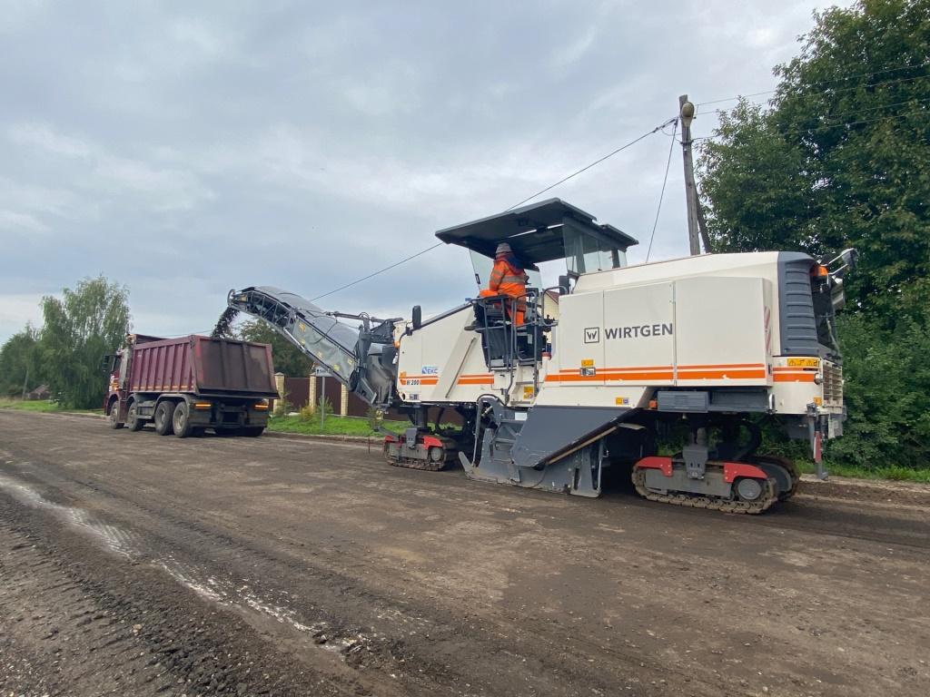 В Ярославской области начали ремонт еще одного участка дороги Нагорье – Берендеево
