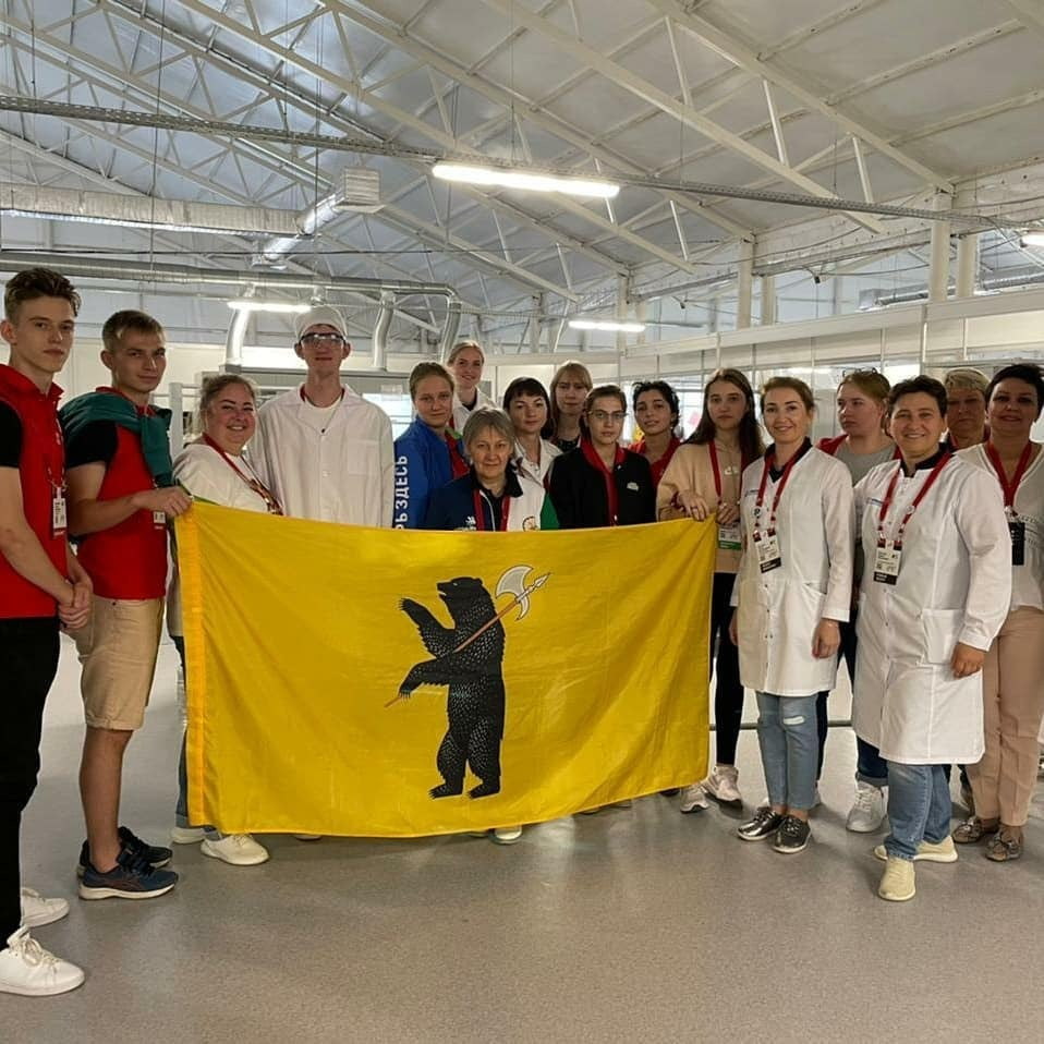 Студент из Ярославля завоевал золото IX национального чемпионата «Молодые профессионалы»