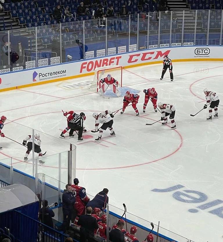 «Локомотив» одержал волевую победу над рижским «Динамо» в первом матче сезона